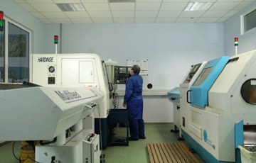 High capacity NC machines for mechanical parts